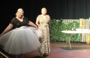 Gaye Reid as Pavlova, Pearl looks on