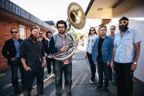 THE Brass Knuckle Brass Band