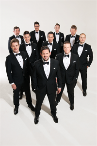 "The Ten Tenors… ""Ten Aussie blokes having fun on stage and loving music."""