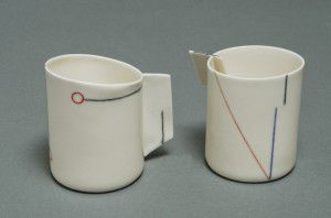 Pottery by ceramic artist Sarit Cohen.