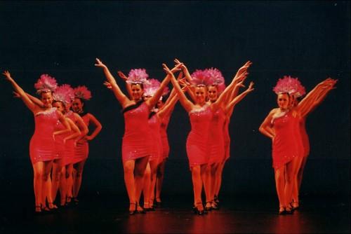 2002, Canberra College dancers  take a walk on the lighter side