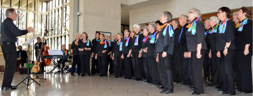 The Gospel Folk Choir… at the High Court.