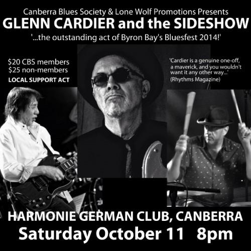 Glenn Cardier Poster