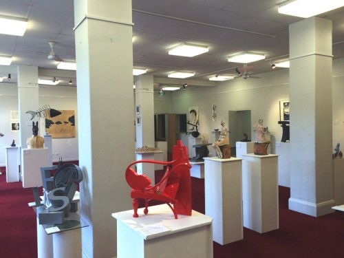 Exhibits in the CGS Gallery
