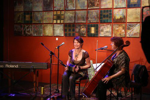 Jo Cresswell &  Rita Woolhouse