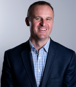 Chief Minister Andrew Barr. Photo by Andrew Campbell
