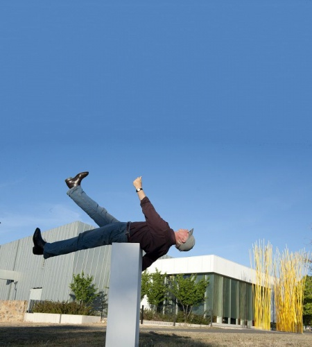 John Reid, Imagine. Solar System Walk. Belconnen Arts Centre