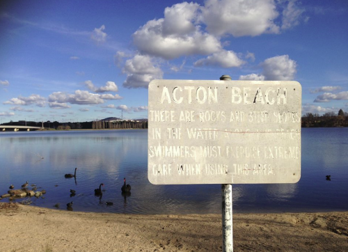 Acton - 'Our' beach