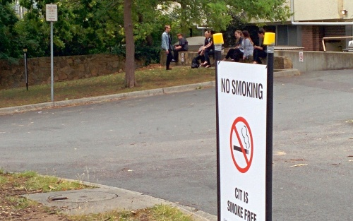 Smoke free areas: Does the ACT need to catch up?