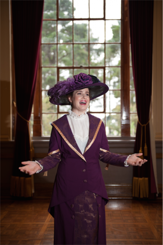 Christine Wallace as Mrs Banks. Photo by Holly Treadaway