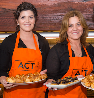 """""""My Kitchen Rules"""" mother-and-daughter cooking team Anna, left, and Gina… """"The show taught us that you don't have to put yourself up to public humiliation to achieve your dreams,"""" says Anna."""