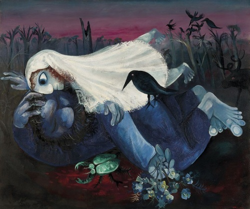 Arthur Boyd, 1920–1999 'Dreaming bridegroom II' 1958, Reproduced courtesy of Bundanon Trust