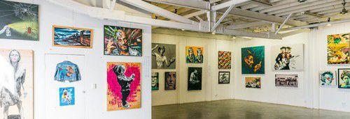 Last year's Stencil Prize exhibition