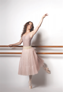 "Ballerina Madeleine Eastoe… here to play the lead role in ""Giselle"". Photo by James Braund"