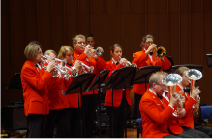 Members of Canberra Brass