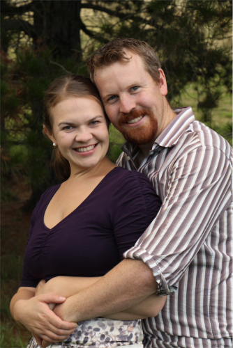 "Happy couple facing divorce; Nick Jensen and his wife Dr Sarah Jensen… ""As Christians, we believe marriage is not a human invention. Our view is that marriage is a fundamental order of creation."""