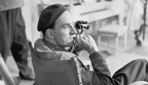 Director Ingmar Bergman, 1957