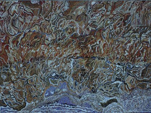 """""""Bushfire at Ngak-Pungarichan"""", 2013"""