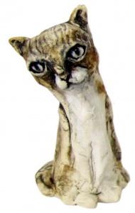 Paul Dumetz's ceramic  'Cat'