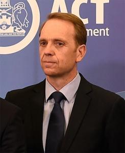 Capital Metro Minister Simon Corbell.
