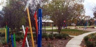 holt park signage