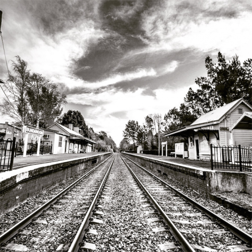 Bundanoon railway station. Photo by Mark Parton