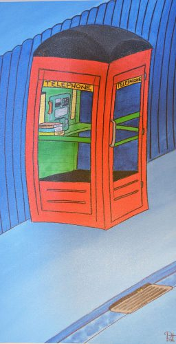 Pat Thomas - The Phone Box - 2015