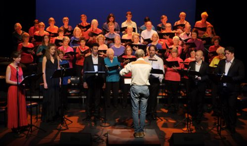 Roland Peelman conducts Song Company and CCS Chorus Photograph by Hou Leong