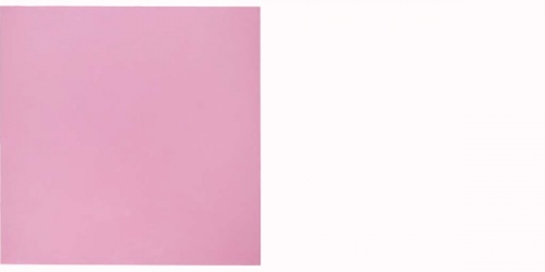 David Serisier gallium sky painting -pink 2014, oil and wax on linen, 198 x 198 cm. Collection David Serisier
