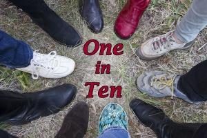 """""""One in ten feet"""""""