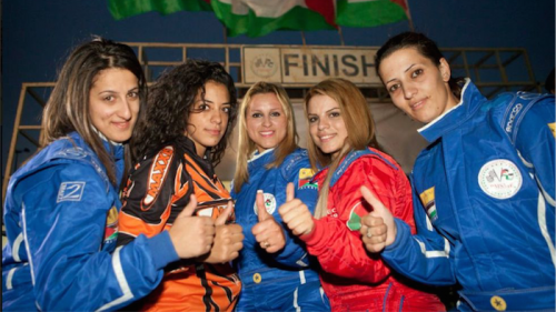 The Speed Sisters… stars of the Arab Film Festival.