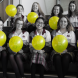 Promoting mental health awareness at St Clare's... social justice committee members, from left, back row: Temarie Rose-Banister, Catherine Langron, Cat Ringrose and Lucy Kibble. Front row: Emily Macaulay, Clem Wraith, Angie Lu, R U OK? Day organiser Ruby Sykes and Beth Horton.