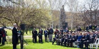 turnbull at the memorial