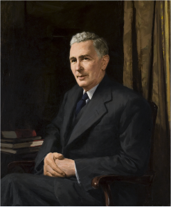 Archibald Douglas Colquhoun (1894–1983) The Rt Hon. Joseph Benedict Chifley, 1953, Historic Memorials Collection, Parliament House Art Collection, Department of Parliamentary Services, Canberra, ACT