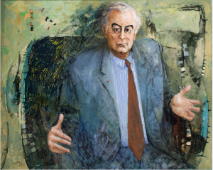 Clifton Pugh (1924–1990) The Hon. Edward Gough Whitlam AC QC, 1972, Historic Memorials Collection, Parliament House Art Collection, Department of Parliamentary Services, Canberra, ACT