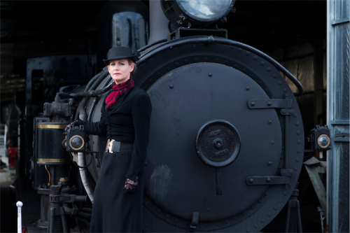 "Ghost train tour organiser Nichole Overall... ""Every city has its secrets."" Photo by Andrew Finch"
