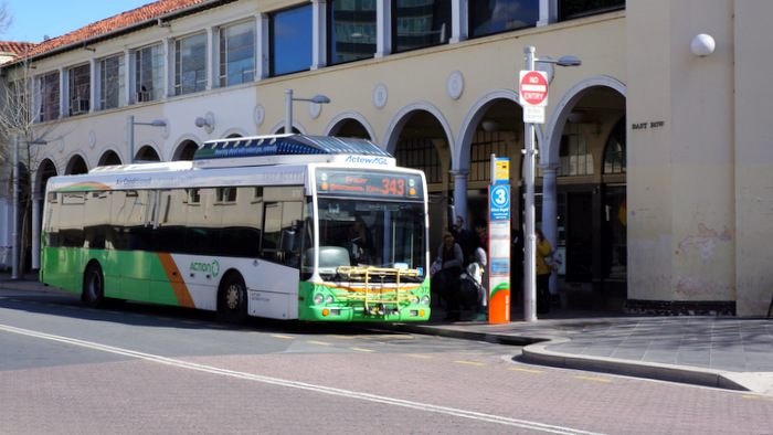 action bus in the civic bus interchange