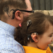 """Dan Backhouse and daughter Bella… """"If ever there is a time she feels tested or unsure, I am hoping that she can draw strength from her dad."""""""