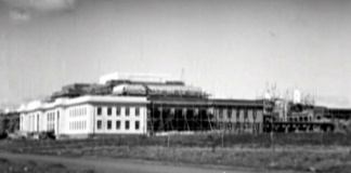 archival footage of parliament house