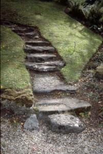A hazardous set of steps.