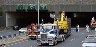 tunnel truck