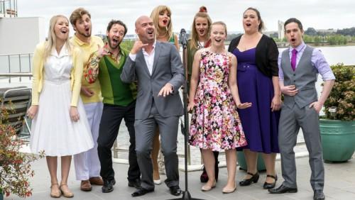 'Company' cast, photo Andrew Finch