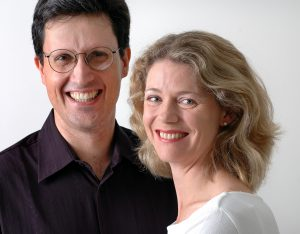 "Alan Hicks and Christina Wilson… performing ""Love and Harmony Combine"", October 18."