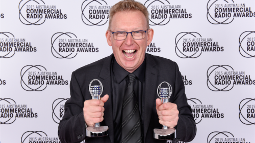 Double winner, Mark Parton.