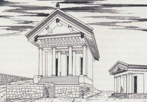 Augustus and the temple of Jupiter Feretrius