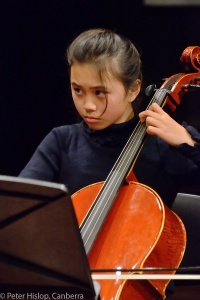 Rising star Bernice Chua on cello