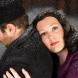Charles Hudson as  Rodolfo and Louise Keast as Mimi in La Bohème