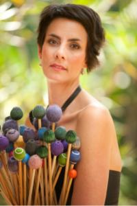 Percussionist Claire Edwardes
