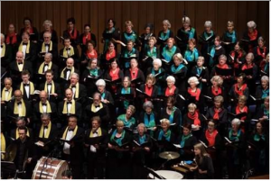 Part of Canberra Choral Society, photo Hou Leong