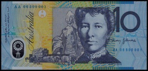 Dame Mary on the $10